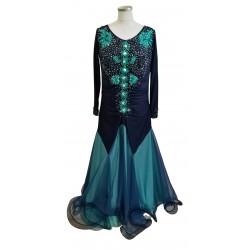 Blue long sleeved Ballroom