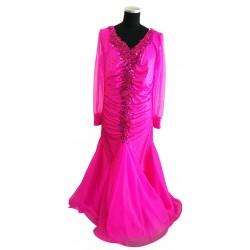 Pink long sleeved Ballroom