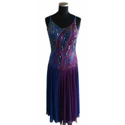 Purple & blue Ballroom