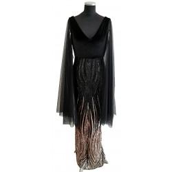 Black & Rose gold sequin...