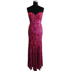 Red & pink sequins