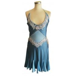 Blue short latin